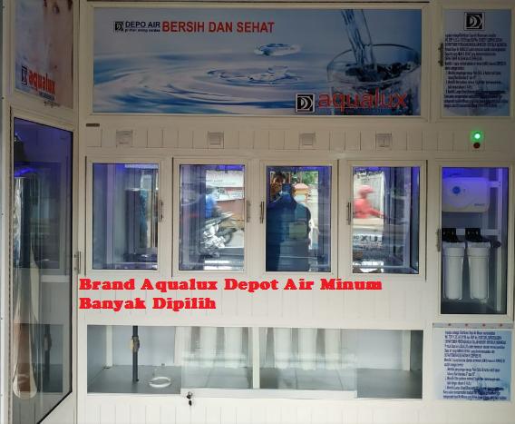 Brand Aqualux Depot Air Minum Banyak Dipilih