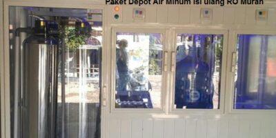 Paket Depot Air Minum Isi ulang RO Murah
