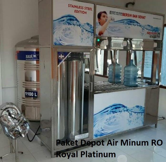 Paket Depot Air Minum RO Royal Platinum